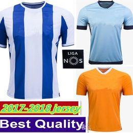 Wholesale Premier League Football Jerseys - 17 18 Portuguese Premier League soccer jerseys 2017 BRAHIMI HOME ABOUBAKA AWAY ORRANGE MAREGA THIRD BLUE PEREIRA jersey football shirt