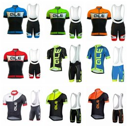 Wholesale mountian bikes - ALE Summer men MTB Bike Cycling Clothing Suit Breathable Mountian Bicycle Clothes Quick-Dry Cycling Jersey Sets Ropa Ciclismo D2001