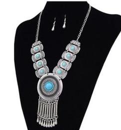Новый стиль модные горячие продажи восстановление древних способов устанавливает свободные камень кисточкой падение падение кулон ожерелье ключицы цепи женщины от