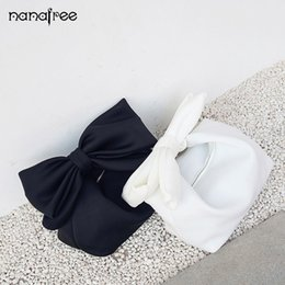 black bow clutch NZ - Nanafree Designer Women Handbags Bow Day Clutches Bag  Ladies Evening Party ed499809b911