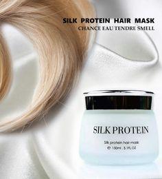 Atacado de luxo cabelo cuidados com o cabelo 150 ml 5.1FL.OZ verde cabelo creme ELANOTE marca de seda cabelo máscara de proteína FYH106 cheap green hair care de Fornecedores de cuidado do cabelo verde