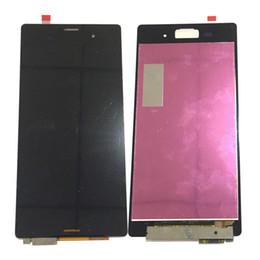 Argentina NUEVO Pantalla LCD Digitalizador de Pantalla Táctil Para Sony Xperia Z3 D6603 D6653 D6643 Blanco Negro Con Vidrio Templado DHL logística Suministro