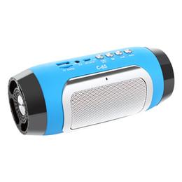 Wholesale China Hifi - HIFI Portable wireless Bluetooth Speaker Stereo Soundbar TF FM Radio Music Subwoofer Column Speakers for Computer Phones