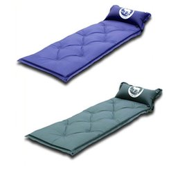 Wholesale air beds mattresses - Outdoor Air Pads Hiking Travel Camping Mat Water Resistant Thick Sleeping Bed Office Sleeping Pads DDA100