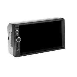 tela de toque para o painel do carro Desconto Estéreo do carro 7 polegadas HD Touch Screen de 2 Din no painel MP5 com rádio FM / USB AUX / linha Bluetooth