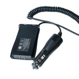 caricabatteria dell'automobile dell'eliminatore Sconti Baofeng Battery Case Eliminator Caricabatteria da auto per baofeng portatile 888s Walkie Talkie Radio bidirezionale accessori radio portatili