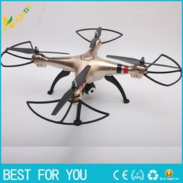 Wholesale Wholesale Professional Rc - Original Syma X8HW 2.4G 6 Axis Gyro 4CH RC FPV Quadcopter RTF Wifi Professional Drones with 2.0MP Camera HD Helicpoter new