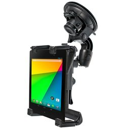 Wholesale Dvd Car Holder - Universal Car Holder Stand for Asus Google Nexus 7 GPS DVD Tablet 7 - 10 inch Suction mount