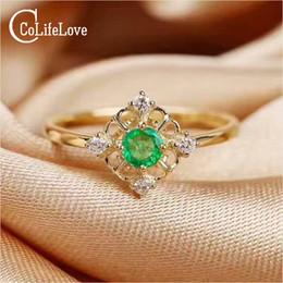 Rabatt Sterling Smaragd Ring 2019 Smaragd Geschliffener Sterling