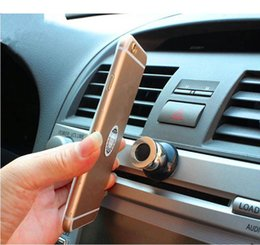 Wholesale Hot Air Holder - Hot Universal Car Phone Holder Magnetic Air Vent Mount Cell Phone Car Mobile Phone Holder Stand Mobile Accessories