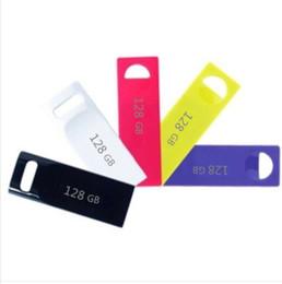 Wholesale sale usb flash drive - 50pcs 128GB USB 2.0 Flash Memory Pen Drive Sticks Drives Disks Mini 128GB Pendrives Thumbdrives Logo Sale shop