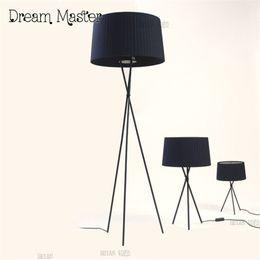 Wholesale Post Desk - Post-modern Nordic cloth art three feet floor lamp living room study decorative lamp simple art vertical desk