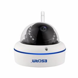 Wholesale Wireless Cctv 2mp - ESCAM Speed QD800WIFI 2MP wifi outdoor IP IR Dome Camera IP66 waterproof Onvif P2P wireless Night Vision Security CCTV Camera