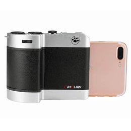 "Teléfono transformador online-CUREFOTO Catclaw Phone Shooting Controller Transformer as DSLR Take Photo Accesorio 4.7 ""/5.5"" Camera Grip para iPhone 6 6S 7 Plus"