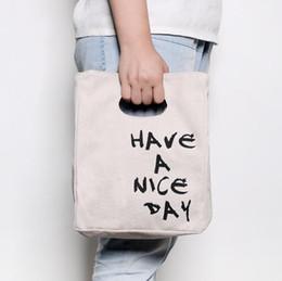 2019 organizador de picnic Lunch Bag Tote Cooler Bag Lunch Organizador Holder Container - Lavable Lona de algodón reutilizable Lunch Soft Bento Picnic Bag organizador de picnic baratos