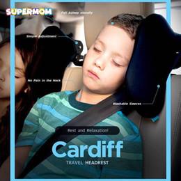 soporte para la cabeza de viaje en automóvil Rebajas Childre Car Pillow Baby Travel Hardest Pillow Neck Support Protección para la cabeza Socio viajero Arnés Shoulder Cover Niños