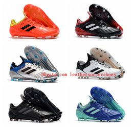 f76109ef866 cheap 2018 new arrival mens leather soccer cleats Copa 18.1 FG soccer shoes  copa mundial 18 chaussures de football boots scarpe calcio