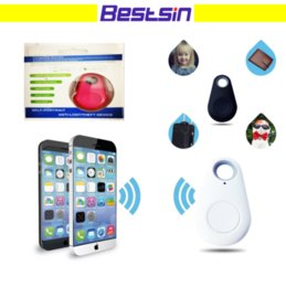 Wholesale Lost Dog Tracker - Bestsin Smart Key Finder iTag Bluetooth Anti-lost For Pet Cat Dog Anti theft device For Kids Tracker Support ISO Andorid