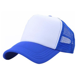Колпачок для мальчиков онлайн-2017 Candy Color Toddler Boy Girls Snapback Cap Blue Pink Black Baby Kids Baseball Hat Peaked Hat j2