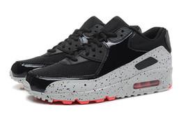 Wholesale classic walking shoes - Brand New Hight Quality Men Women Classic 90vs casual Shoes Black White Men Women Trainers Sneakers Man Walking Airss Sports tennis Shoes