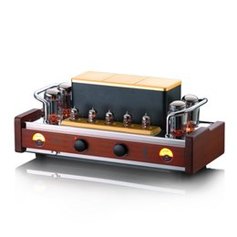 Wholesale Integrated Tube Amplifiers - Original Dared VP-99P HIFI Vacuum Tube Integrated Amplifier 50Wx2 Power AMP KT88
