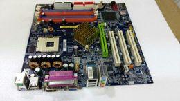 865G материнская плата GA-8IG1000MK материнская плата 478 pin DDR слот памяти 4 от
