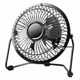 Wholesale fans desk - Quiet Mini Table Desk Personal Fan and Portable Metal Cooling Fan for Office Home School and Camping, High Compatibility, Power Saving with