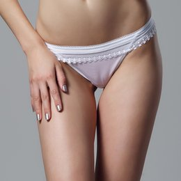 Wholesale Young Girls Sexy Panties - Victoria's Masquerade Women's Hollow Out Sexy Briefs Mesh Lingerie See Through Panties Solid Underwear For Young Girls