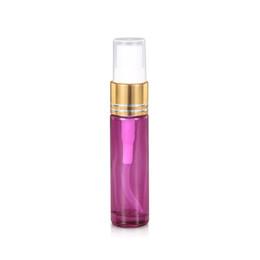Botellas de vidrio de 10 ml con rociador de niebla fina Botellas vacías rellenables para aceites esenciales u otros líquidos desde fabricantes