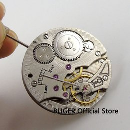Wholesale Classic Vintage Watches - Wholesale-Vintage 17 Jewels classic watch movement fit men's watch 6498 Hand-Winding movement BM3