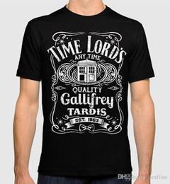 Argentina 2018 Verano Casual Hombre Camiseta Doctor Who Time Lord's Tardis Hombres Mujeres Camiseta Venta Caliente Ropa Casual cheap doctor shirt women Suministro