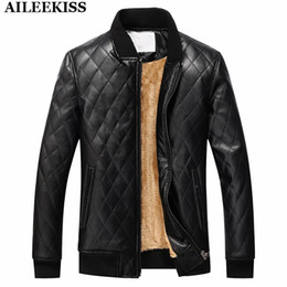 Wholesale Motorcycle Jackets Leather Classic - Wholesale- 2017 New 100% Washed Leather Casual Jacket Men Plus Size PU Fashion Fur Coat Men's Bomber Suit Classic Motorcycle Jackets XT327