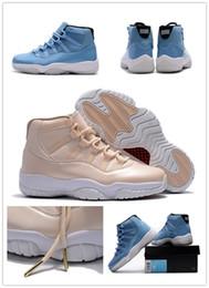 Wholesale Ultimate Orange - 2018 New Men 11 Ultimate Gift of Flight Blue Pantone Basketball Shoes 11s Beige Maroon Sports Sneakers Shoes Size US7-12