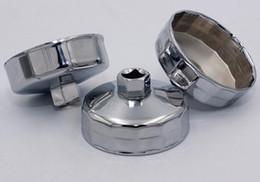 "Placa de filtro de óleo on-line-Chave de Filtro de óleo Cromado 1/2 ""Drive 901-915 Tampa Removedor de Filtro De Óleo Ferramentas Auto Ferramenta de Reparo Do Filtro Soquete Chave Wrench Tool Set"