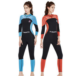 4d35bb7c02 DIVE   SAIL 2018 3MM Neoprene Wetsuit Women Diving Suit For Women Surf  Spearfishing Wetsuit For Swimming Wetsuits Fashion Long Warm Sleeve