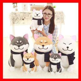 Wholesale Cosplay Toys - Shiba Inu Plush Dog Japanese Doll Toy Doge Dog Plush Cute Cosplay Gift 25cm