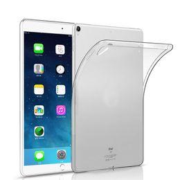 Ipad mini clear en Ligne-Silicon Case For iPad 5 6 Air Mini 2 3 4 9.7 2017 2018 Pro Clear Transparent Case Soft TPU Slim Cover