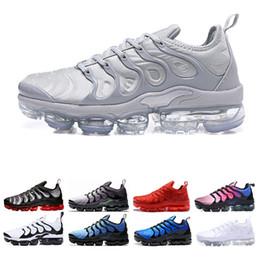 brand new b9493 2c07e Nike Air Vapormax VM TN Plus TN Plus BE TRUE Chaussures de course pour  hommes Chaussures classiques de plein air grapes noir blanc Mode Sportif  Sneakers ...