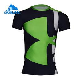 2017 Mann Basisschicht Outdoor Sport Camisa Hombre Wandern T-shirt Männer Angeln Quick Dry T Shirts Kurzarm Oansatz Radfahren Tee von Fabrikanten