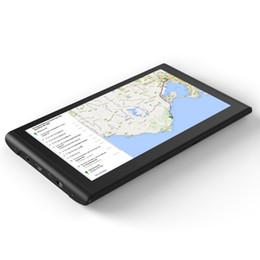 tela de polegadas de navegação por gps Desconto Q8 7-inch 8 GB ROM + 128 M de RAM Capacitivo Touch Screen Navegador GPS GPS Navegação 800 * 480 HD Portátil Para O Caminhão Do Carro