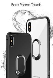 Новый корпус из закаленного стекла для iphone, магнитный корпус для автомобильного держателя, стеклянный корпус Для iphone6 / 6s / 6splus / 7 / 7plus / 8 / 8plus / X. Высококачественные продукты. от
