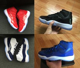 Wholesale Higher Increase - 2018 With Box Basketball Shoes Mens and Womens Easter Gamma Blue Space Jam High Gym Red Size US 5.5-13 Sports Trainers