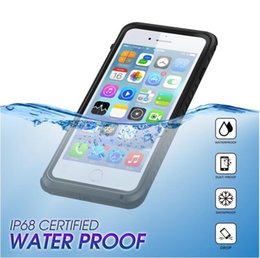 Wholesale Life Cell Phone Cover - 2018 Latest Life Waterproof cell phone case for iPhone 7 Plus Hard Cover Dual purpose full protector case iPhone case