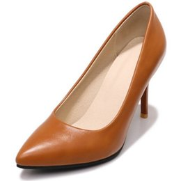 Chinese SJJH 2018 Pumps with Pointed Toe and Stiletto Elegant Comfortable  Working Dressy Shoes for Fashion 138cfe217
