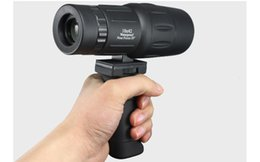 Wholesale Hold Watches - Monocular Telescope Handle Link Monocular Telescope Watch Bird Mirror Holding Handle Telescope Adapter for Outdoor Hunting