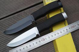 feste klingen großhandel Rabatt Tactical Messergroßhandelsmesser-örtlich festgelegte Klinge 5Cr13, die kampierendes Werkzeug-Messer 602 des Überlebens-Messer mit Aluminiumgriff für freies Schiff kampiert