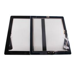 Argentina Para iPad 3 Reemplazo de pantalla táctil para A1403 A1416 A1430 Cristal de sensor digitalizador con cinta adhesiva + Herramientas de botón de inicio supplier tool buttons Suministro