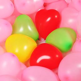 decorazioni cinesi porta nuova anno Sconti 100pcs / lot 6.3inch confetti palloncino carta colorata a forma di cuore lattice palloncino compleanno decorazione di cerimonia nuziale per feste per bambini ragazze b