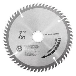 Wholesale Circular Cut - 6 Inch 60 Teeth Circular Saw Blade Woodworking Cutting Blade