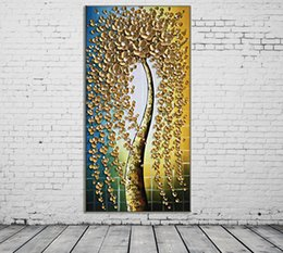 flowers posters canvas Promo Codes - ZYXIAO Posters and Prints Performing flower orchid modern Oil Painting Canvas No Frame Wall Pictures for Living Room Home Decoration ys0090